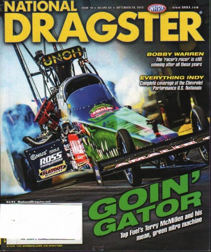 Media Scan for National Dragster