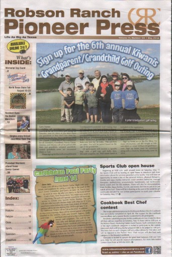 Media Scan for Robson Ranch Pioneer Press