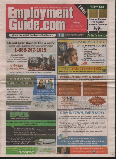 Media Scan for Employment Guide