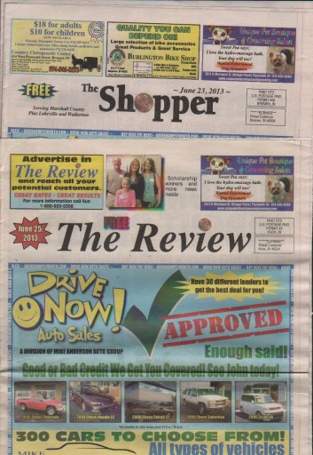 Media Scan for Plymouth Pilot News - The Shopper Review TMC