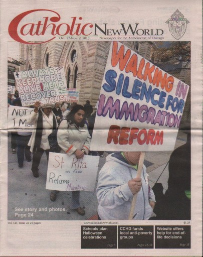 Media Scan for Chicago Catholic New World