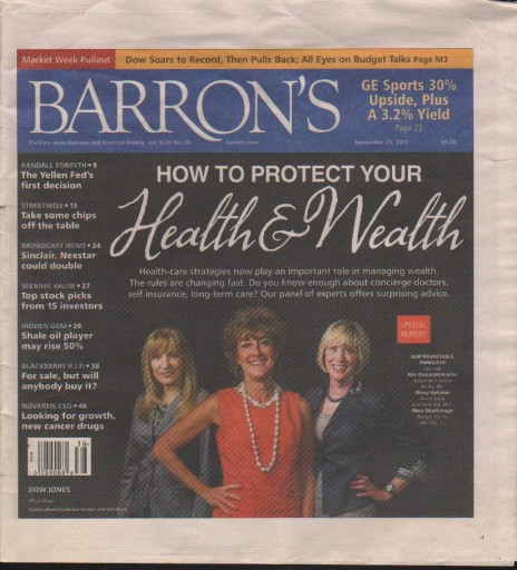 Media Scan for Barron's