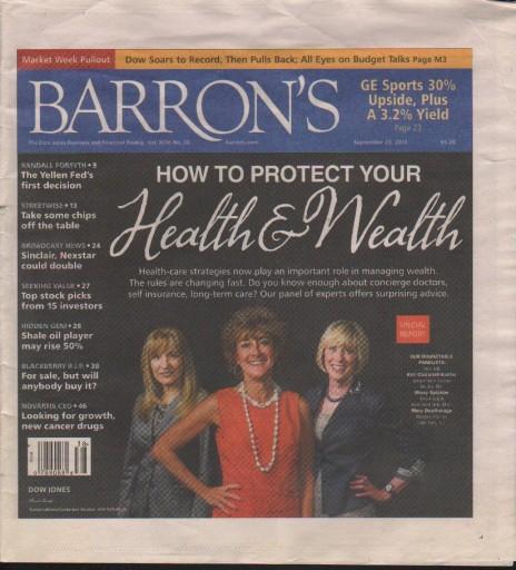 Media Scan for Barron's