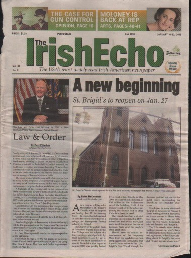 Media Scan for Irish Echo
