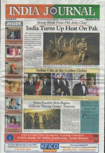 Media Scan for India Journal