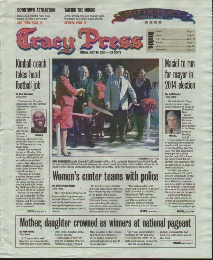 Media Scan for Tracy Free Press