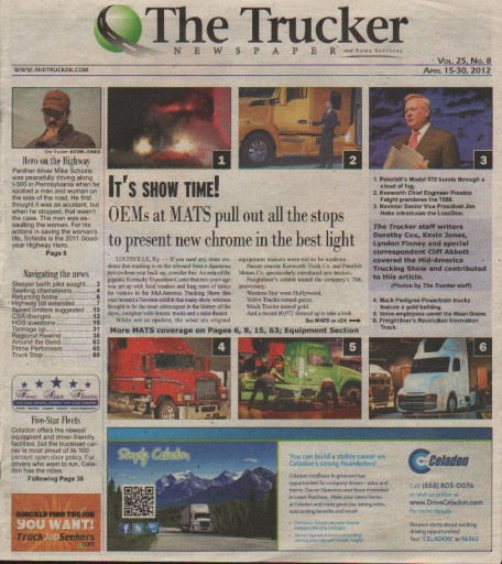 Media Scan for The Trucker Newspaper