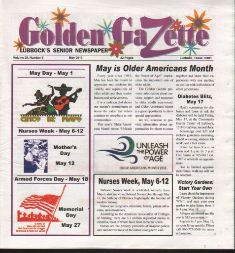 Media Scan for Lubbock Golden Gazette