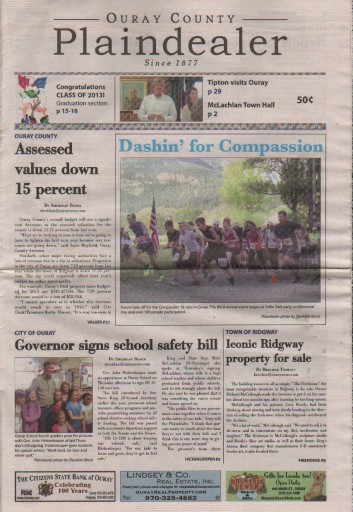 Media Scan for Ouray County Plaindealer