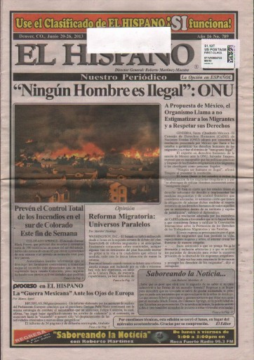 Media Scan for El Hispano - Denver