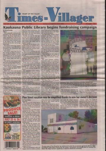 Media Scan for Kaukauna Times-Villager
