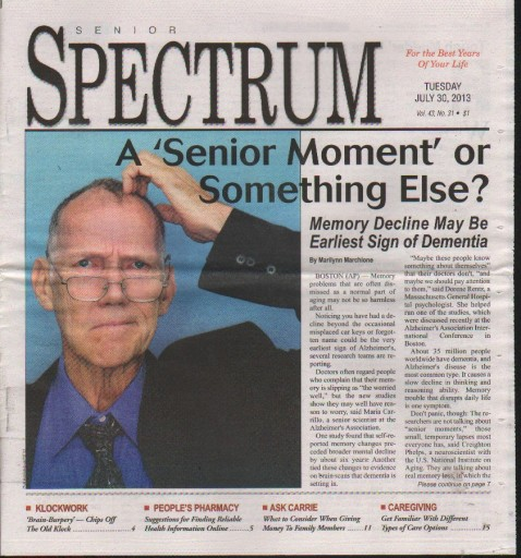 Media Scan for Sacramento Senior Spectrum