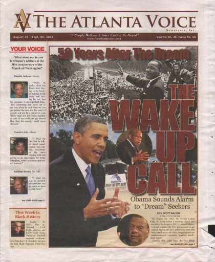 Media Scan for Atlanta Voice