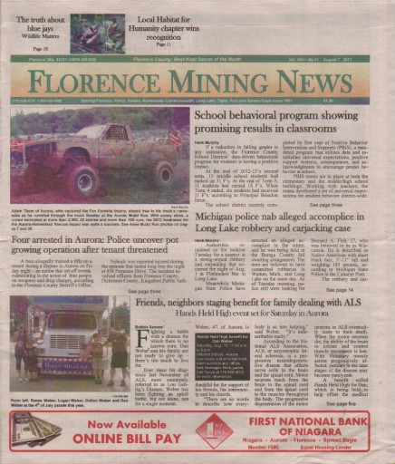 Media Scan for Florence Mining News