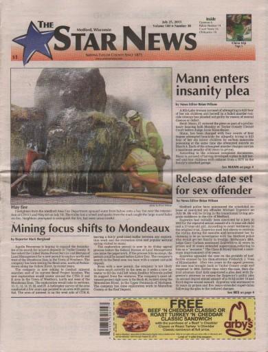 Media Scan for Medford Star News