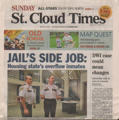 Media Scan for St. Cloud Times