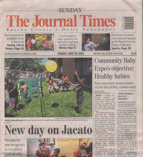 Media Scan for Racine Journal