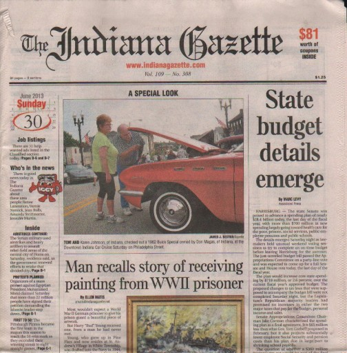 Media Scan for Indiana Gazette