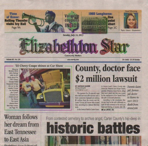 Media Scan for Elizabethton Star