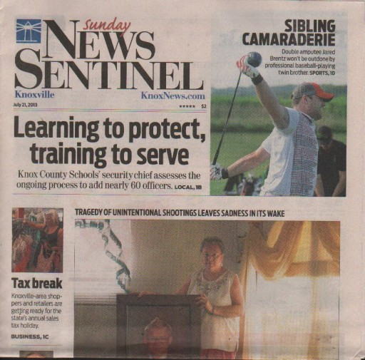 Media Scan for Knoxville News Sentinel
