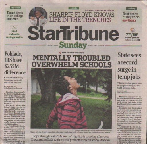 Media Scan for Minneapolis Star Tribune
