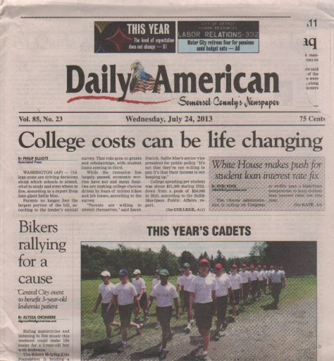 Media Scan for Somerset Daily American