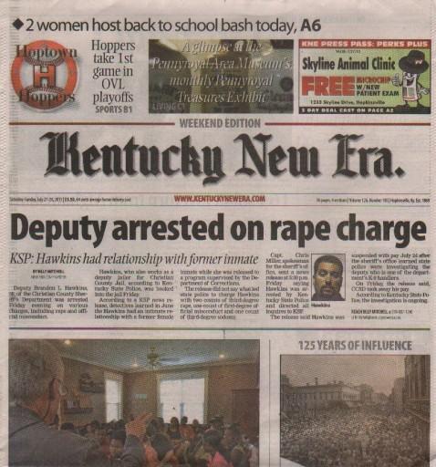 Media Scan for Hopkinsville Kentucky New Era