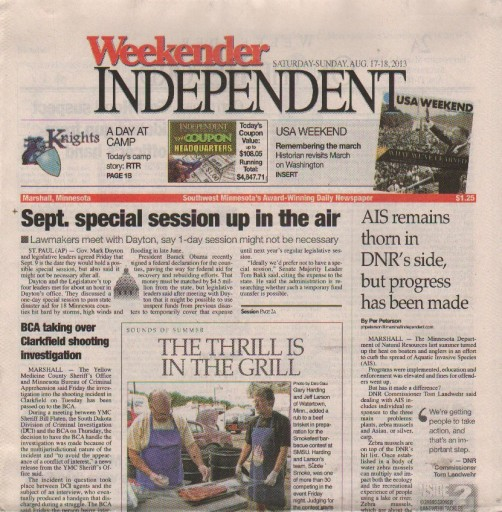 Media Scan for Marshall Independent