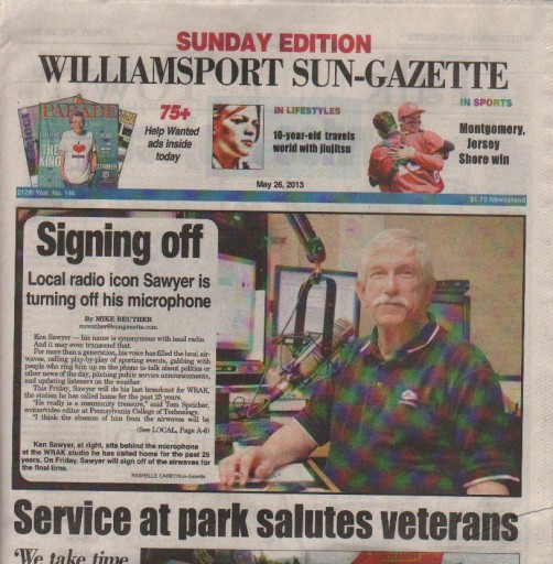 Media Scan for Williamsport Sun-Gazette