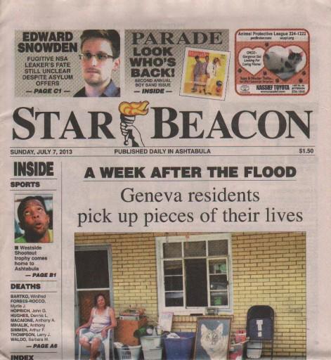 Media Scan for Ashtabula Star Beacon