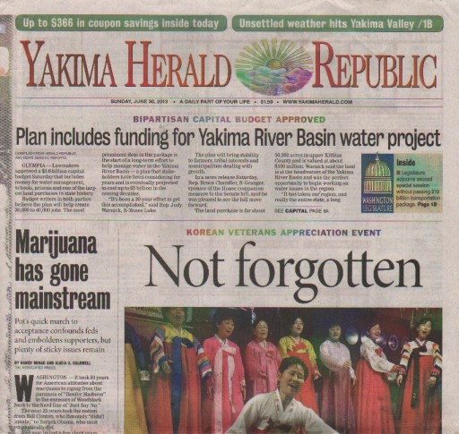 Media Scan for Yakima Herald Republic