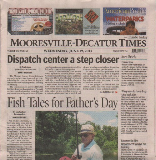 Media Scan for Mooresville/Decatur Times