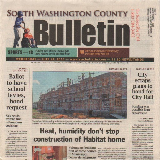 Media Scan for South Washington County Bulletin