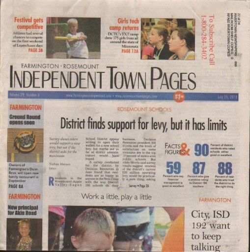 Media Scan for Farmington Independent