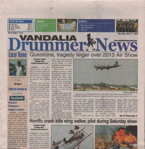Media Scan for Vandalia Drummer News