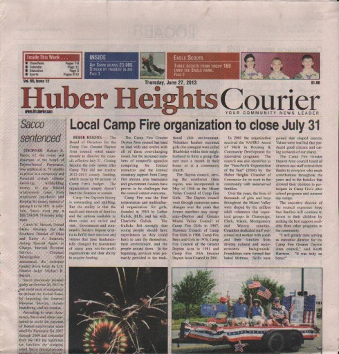 Media Scan for Huber Heights Courier Times