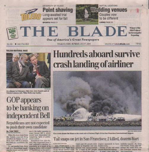 Media Scan for Toledo Blade