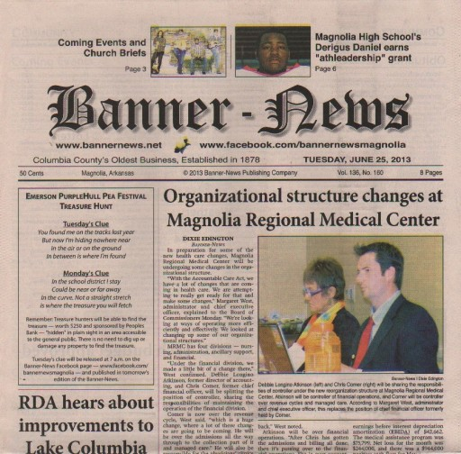 Media Scan for Magnolia Banner-News
