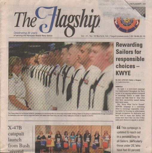 Media Scan for Hampton Roads Flagship