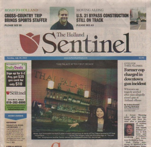 Media Scan for Holland Sentinel