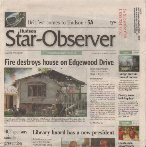 Media Scan for Hudson Star-Observer