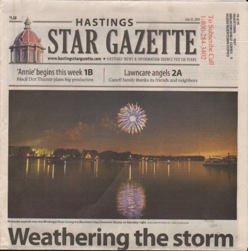 Media Scan for Hastings Star Gazette