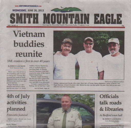 Media Scan for Moneta Smith Mountain Eagle