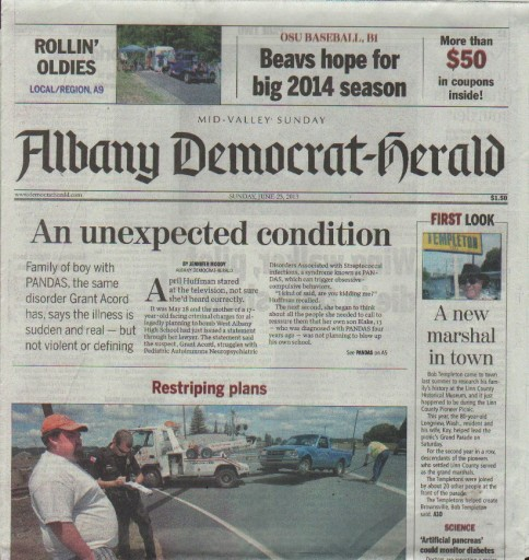 Media Scan for Albany Democrat Herald & Mid Valley Sunday