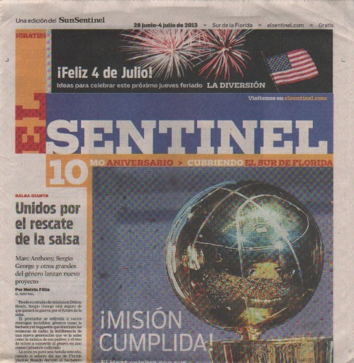 Media Scan for El Sentinel South Florida