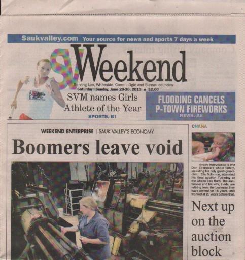 Media Scan for Sterling Sauk Valley Telegraph & Gazette