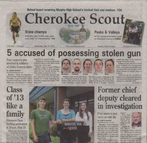 Media Scan for Murphy Cherokee Scout
