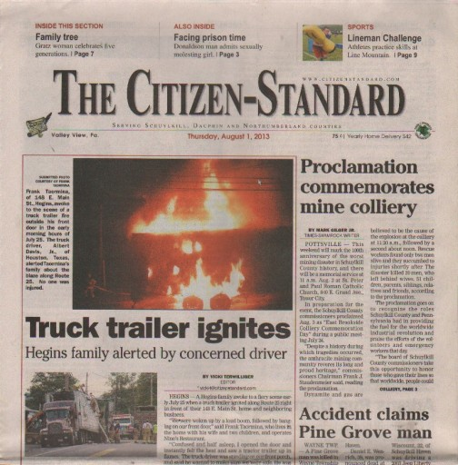 Media Scan for Valley View Citizen-Standard