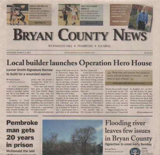 Media Scan for Bryan County News