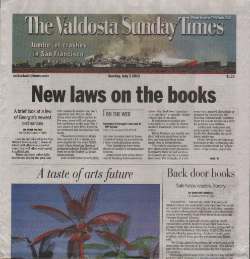 Media Scan for Valdosta Daily Times